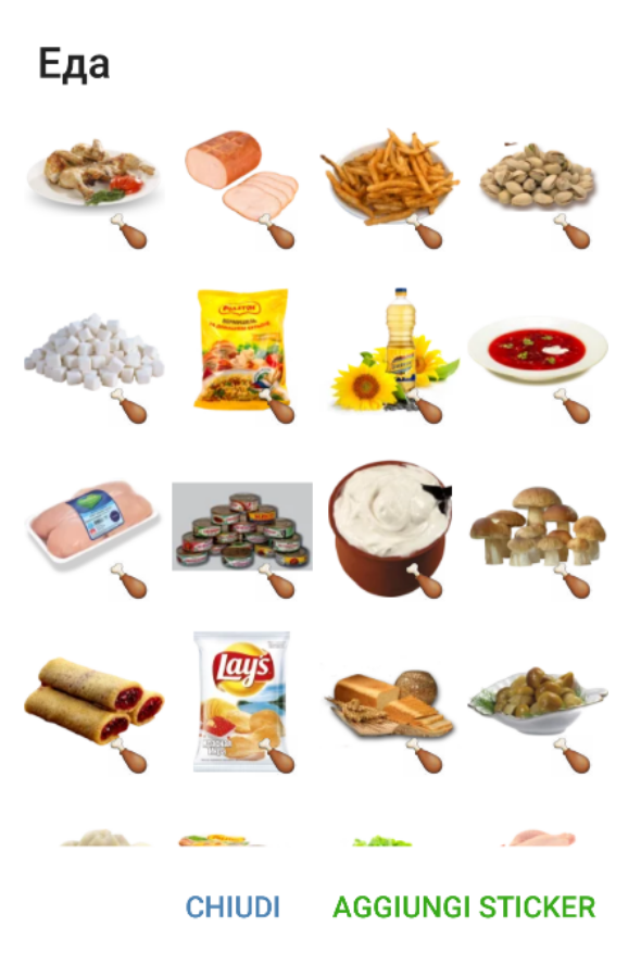 Food stickers telegram - Stickers protection cuisine ...