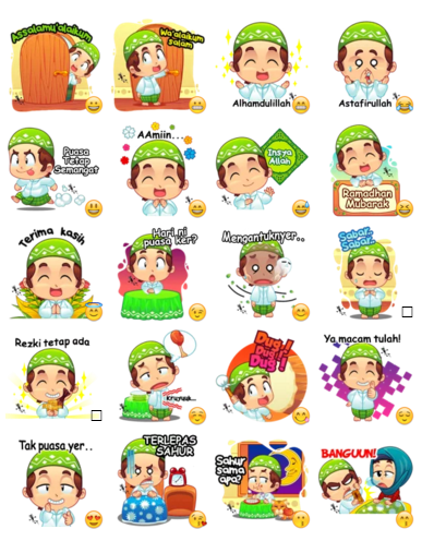 Stickers Ramadhan Telegram Messenger