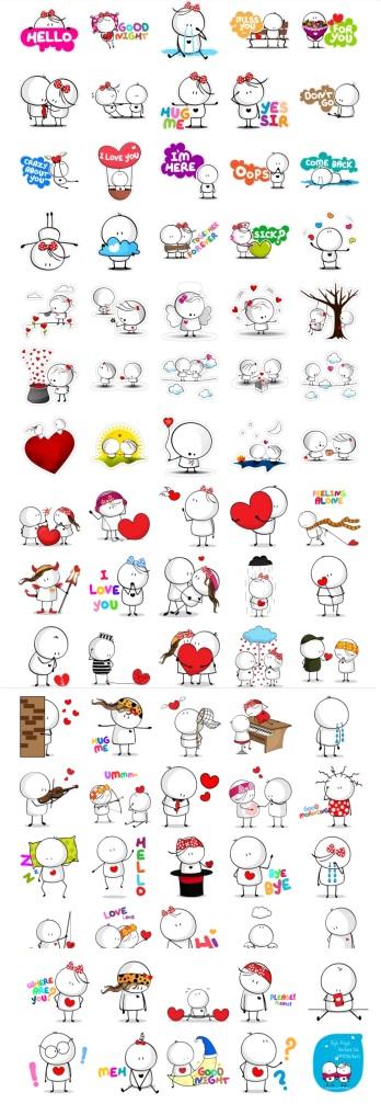 Bigli Migli Full stickers