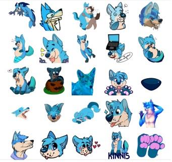 Kin Stickers