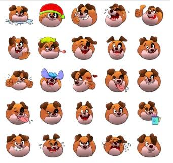 Milo Dog Caracters