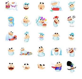 stickers lucu