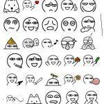 aru sticker emoticon