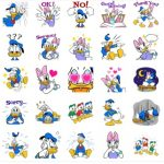 donald and friends LINE