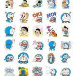 doraemon stickers telegram