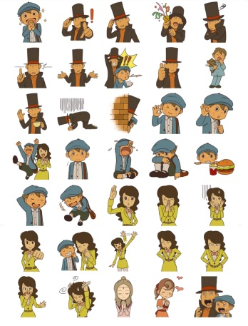 Professor Layton Game