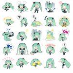 miku line stickers