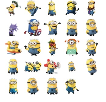 minion funny stickers telegram mesenger
