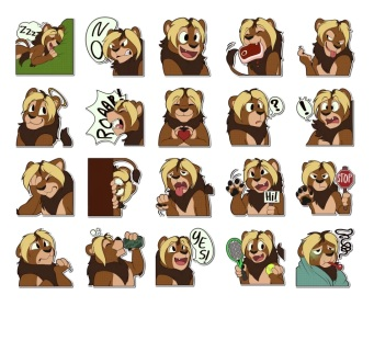 nbowa lions stickers
