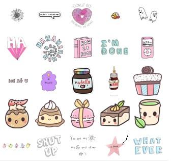 tumblr stickers telegram