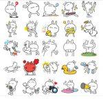 tuzki best cat stickers