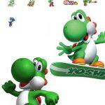 yoshi dinosaur video games published