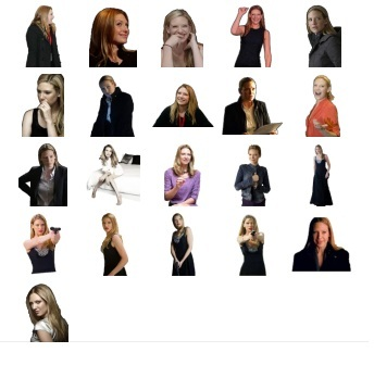 Anna Torv Australian actress Stickers