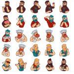 Beard Man Stickers Telegram Stickers