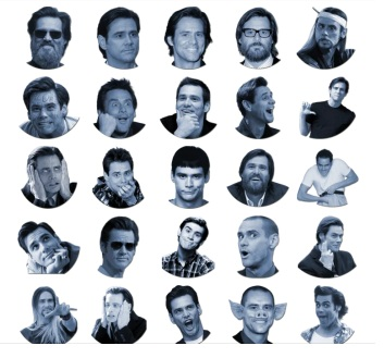 Jim Carrey Telegram stickers