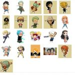 One Piece Stickers Indonesia