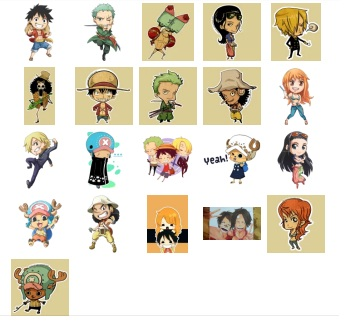 One Piece Stickers Indonesia