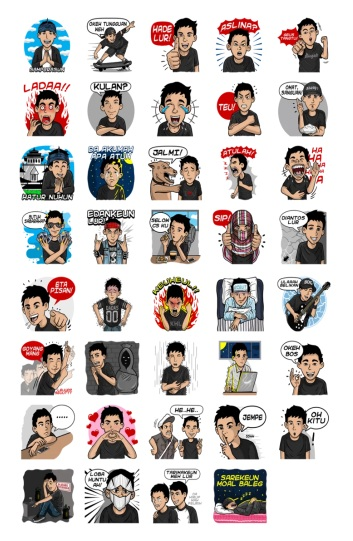 stickers lucu indonesia