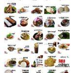 Food Indonesian stickers telegram