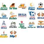 Orisja Stickers