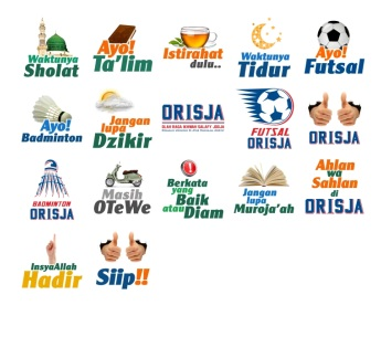 Orisja Stickers