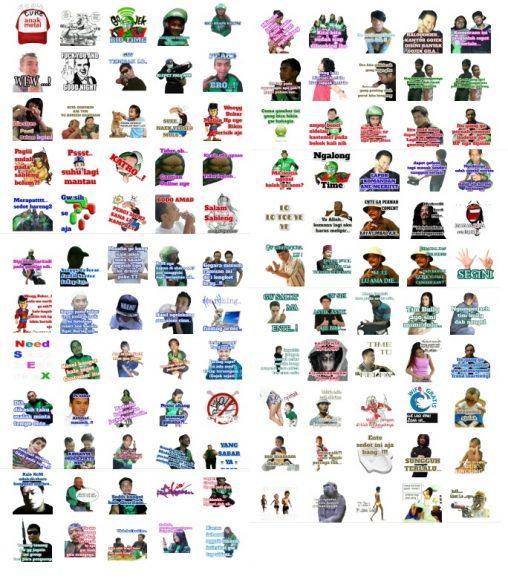 Stickers Komunitas Para Gojek