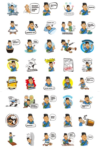 hari raya idul adha stickers