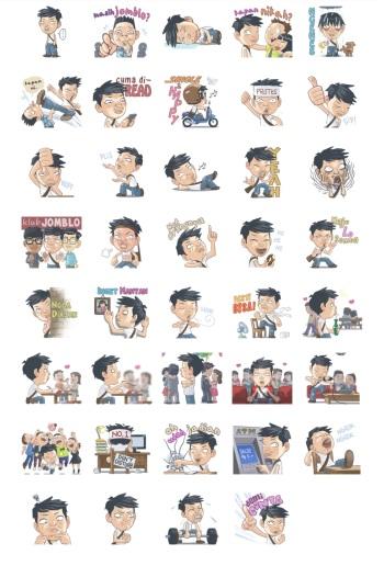 junet stickers indonesia