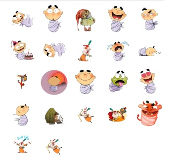 baby stickers funny