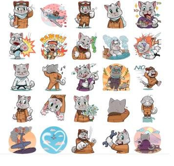 kamikaze stickers