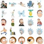 Ricky and Morty Stickers Telegram