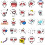 Smile Person Big Mouth Stickers Telegram Messenger, FUnny Stickers, New Caracters Stickers for Telegram Messenger, Best Stickers Telegram Messenger