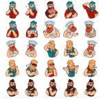 Borodist Telegram Stickers Collection