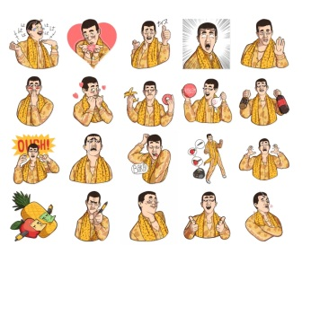 PPAP Japan Stickers Telegram