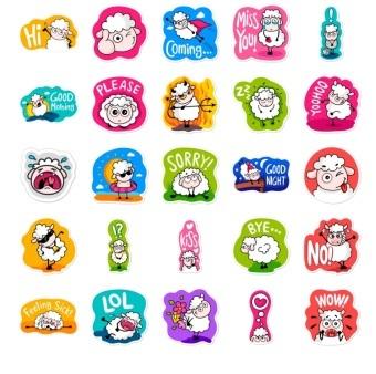 lana the seep telegram stickers