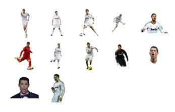 Cristiano Ronaldo Add New Stickers