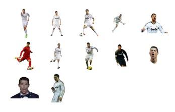 Cristiano Ronaldo Add New Stickers