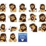 Lionel Leupold New Stickers Telegram