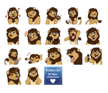 Lionel Leupold New Stickers Telegram