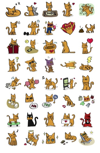 Nya Add Stickers Telegram By Chemapop