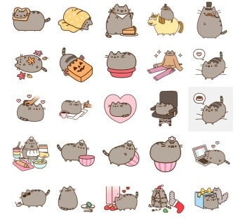 Pusheen Cat New Stickers Telegram Messenger
