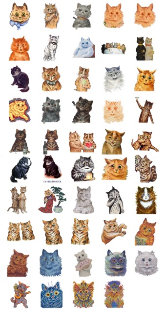 Wain Kots Lover Cat Stickers Telegram