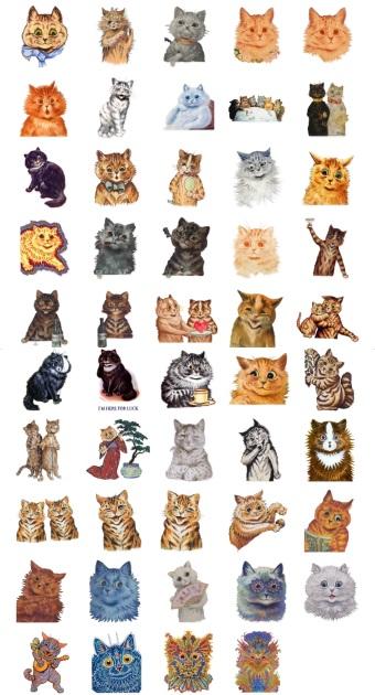 Wain Kots Lover Cat Stickers Telegram