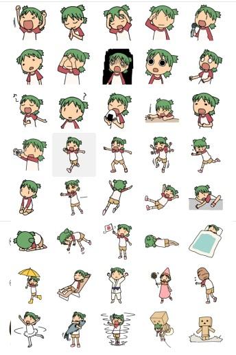 Telegram Stickers Yotsuba