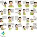Ucrot Tengil sticker set for Telegram Stickers By Rizqi