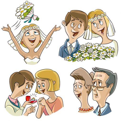 Wedding Stickers Telegram