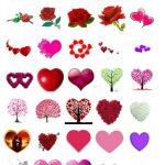 Flower on Love Stickers
