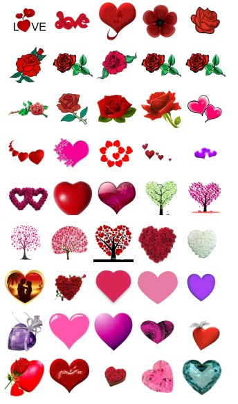 Flower on Love Stickers