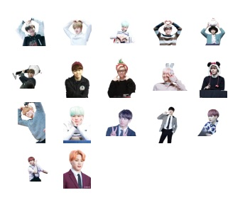 Bangtan Boys Telegram Stickers