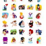 Love Story telegram sticker pack